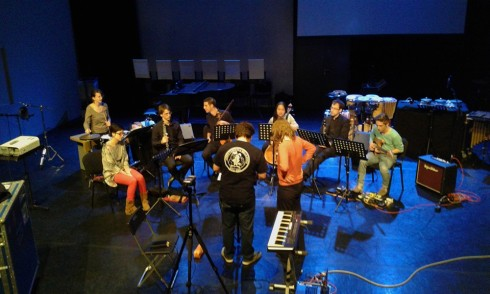 "Catchpenny Ensemble of the Royal Conservatoire Den Haag plays ""Train"" by Yvonne Freckmann"